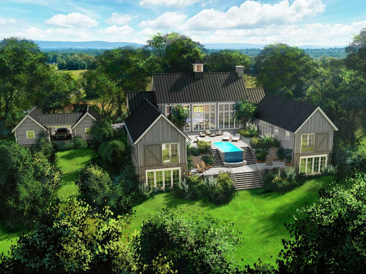 This rendering showcases one of the 49 homes within the exclusive grounds of Salamander Resort & Spa in Washington, D.C.