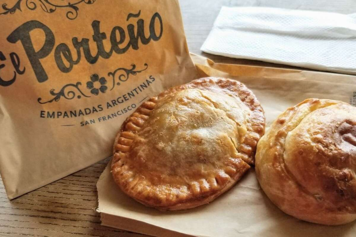 El Porteño Empanadas If you're missing the Ferry Building and haven't visited in some time, why not order from one of its merchants inside? Think El Porteño Empanadas that ships both savory or sweet empanadas. Note: El Porteño Empanadas ships only to West Coast states and requires a minimum order of $45. El Porteño Empanadas | 1 Ferry Building, San Francisco | Order online