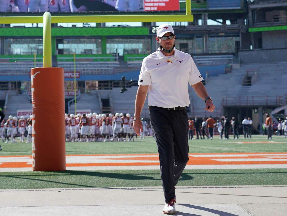 Texas would have to fork over more than $15 million if it were to give coach Tom Herman his walking papers.