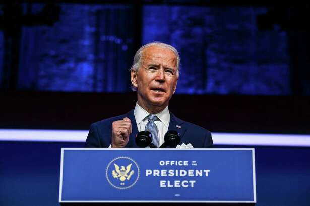 (FILES) In this file photo taken on November 24, 2020 US President-elect Joe Biden speaks during a cabinet announcement event in Wilmington, Delaware. - President-elect Joe Biden's victory in Arizona was finalized November 30, 2020, further cementing his win even as Donald Trump continues to make baseless claims of vote fraud. (Photo by CHANDAN KHANNA / AFP) (Photo by CHANDAN KHANNA/AFP via Getty Images)