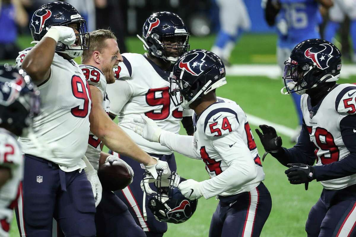 The Texans defense had plenty to celebrate against Detorit on Thanksgiving but its job gets harder this week against the Colts. The offense losing Will Fuller doesn't help, either.