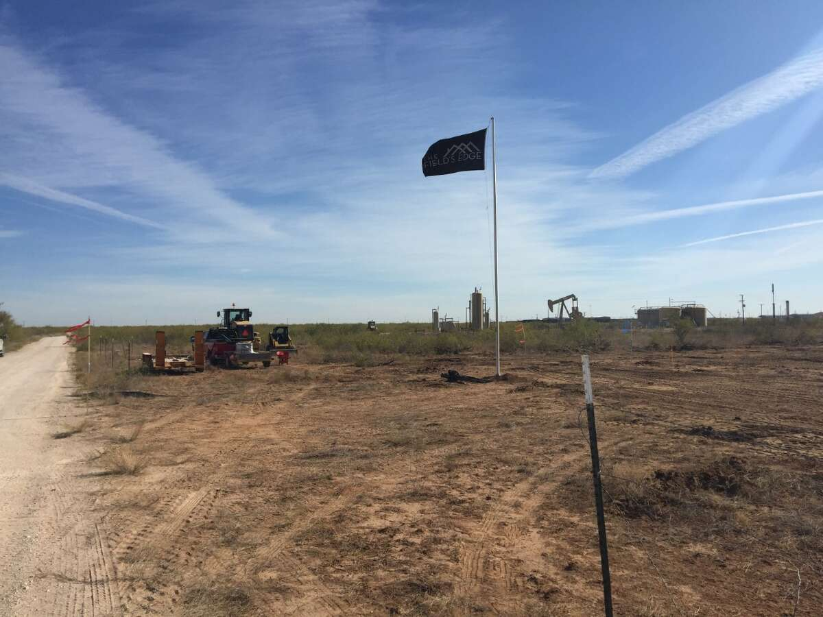 The Field's Edge has begun construction on a tiny-home village for Midland's homeless intended to give nearly 100 individuals permanent residences.