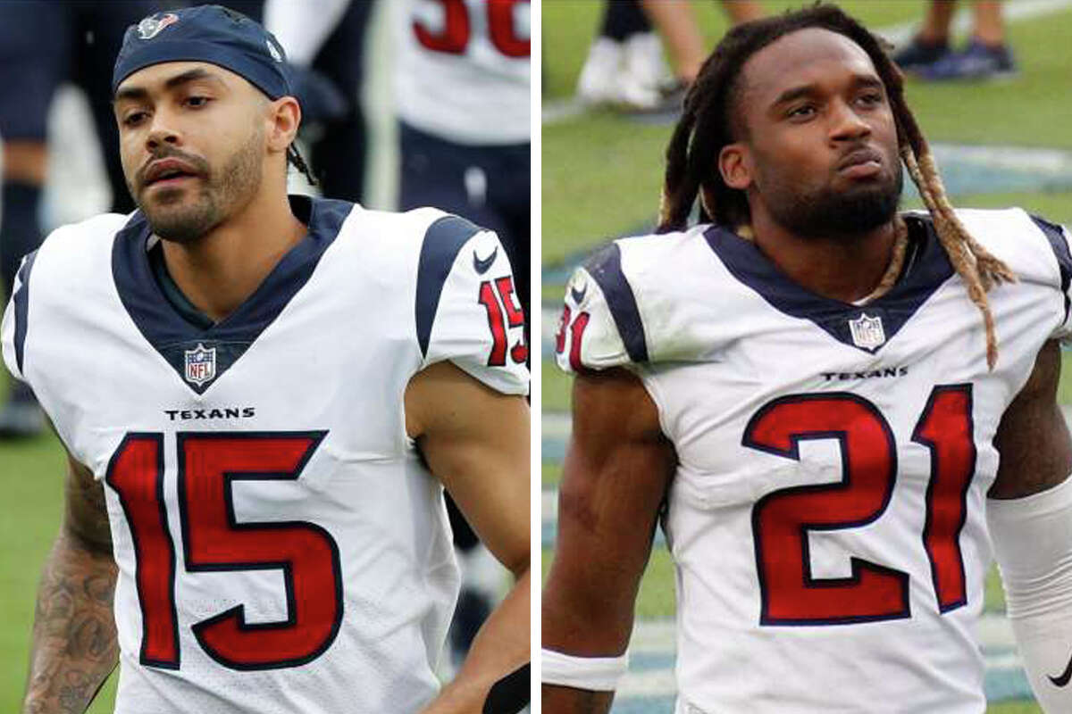 Texans wide receiver Will Fuller and cornerback Bradley Roby are suspended six games for PED violations.