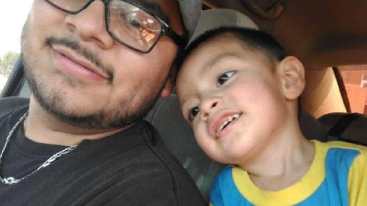Laredo toddler Rogelio Morales Jr.