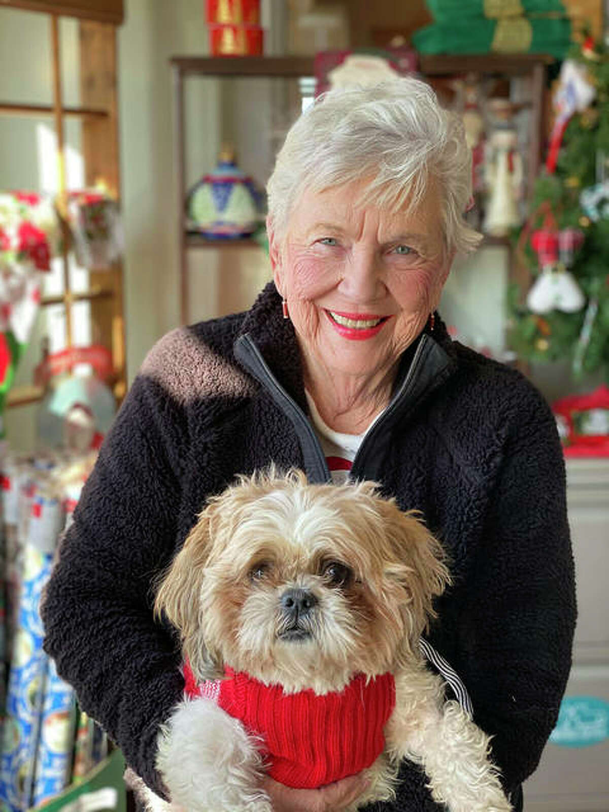 Coldwell Banker Brown Realtors partnering with Partners for Pets to encourage holiday pet adoptions.
