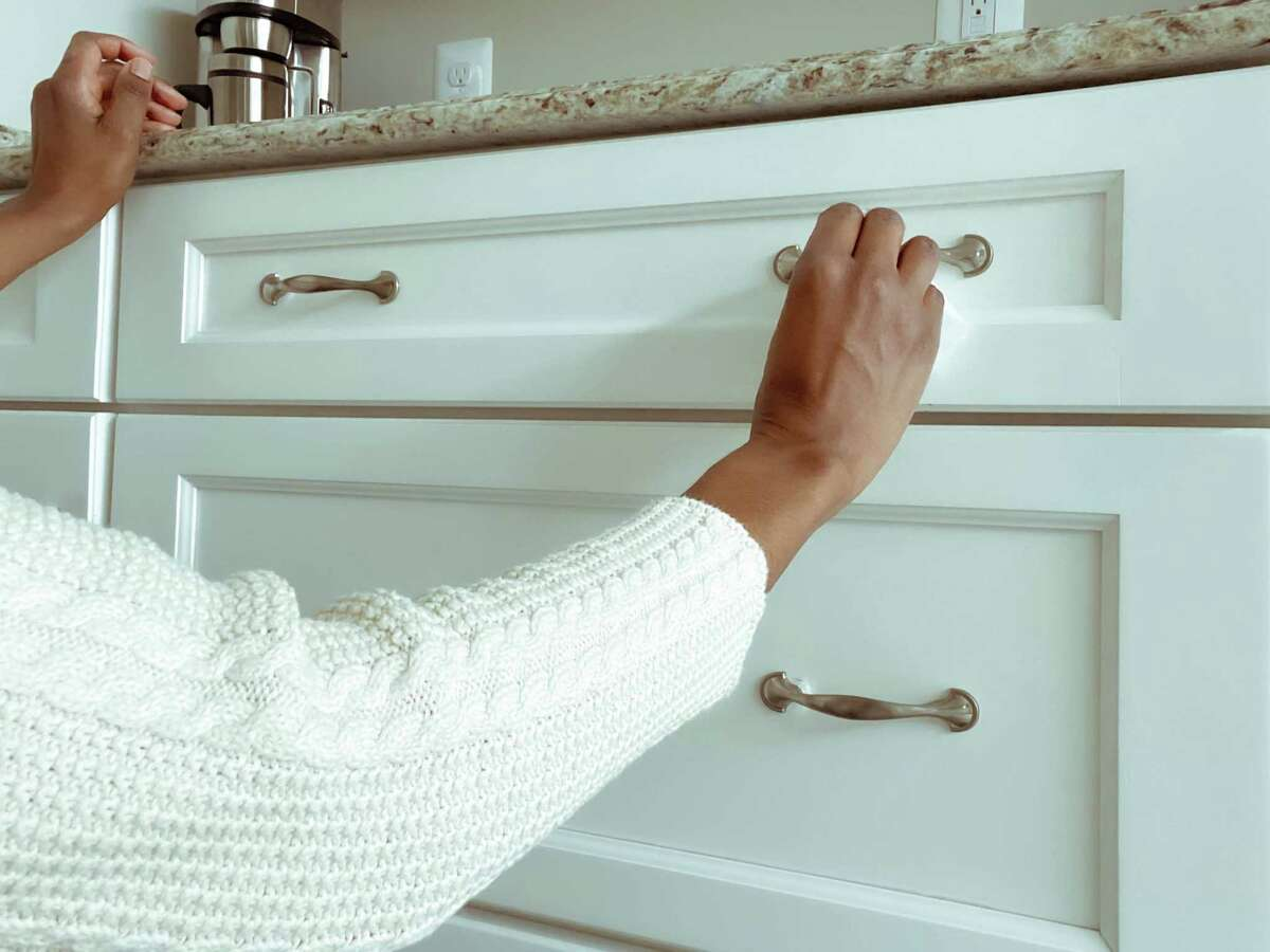 You don't have to update an entire kitchen or bathroom to give it a new look; just look at finding different fixtures for cabinets.