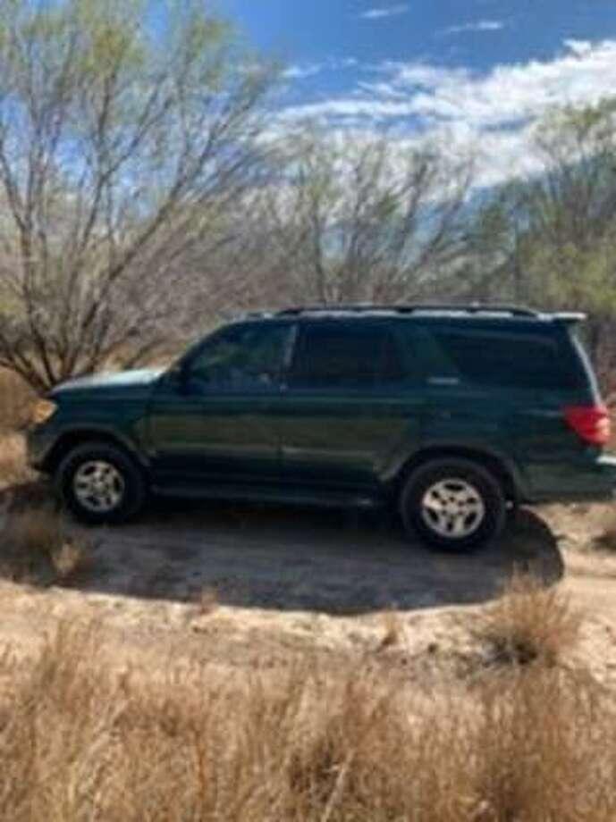 U.S. Border Patrol agents in Zapata County said this vehicle was loaded with 43 bundles of marijuana worth $394,184 in street value. Photo: Courtesy Photo /U.S. Border Patrol