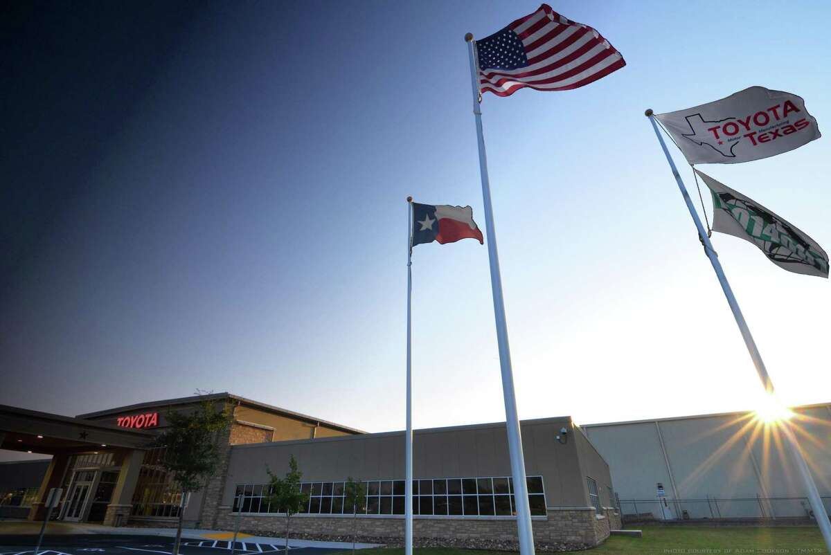 Toyota Texas factory is located in San Antonio. (Adam Cookson/Toyota Texas/TNS)