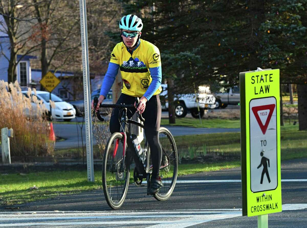 The Albany Bicycle Coalition's online bike map also now extends into Saratoga County, including the Zim Smith Trail.