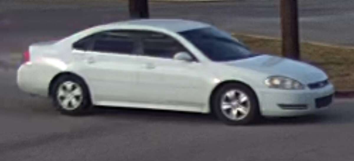 San Marcos police are searching for two suspects in connection with two armed attacks. The suspects are thought to be in the San Antonio area with their vehicle shown above.