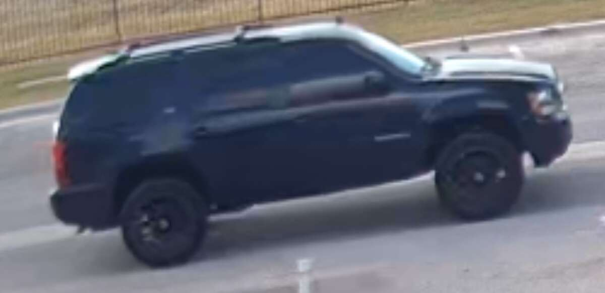 San Marcos police are searching for two suspects in connection with two armed attacks. The suspects are thought to be in the San Antonio area with the victim's vehicle shown above.
