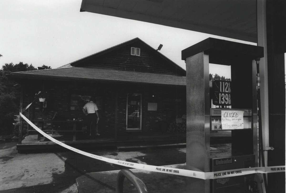 Xtra Mart in Saratoga County, New York - murder scene - Betty Conley Undated (victim). July 08, 1993 (Skip Dickstein/Times Union Archive)