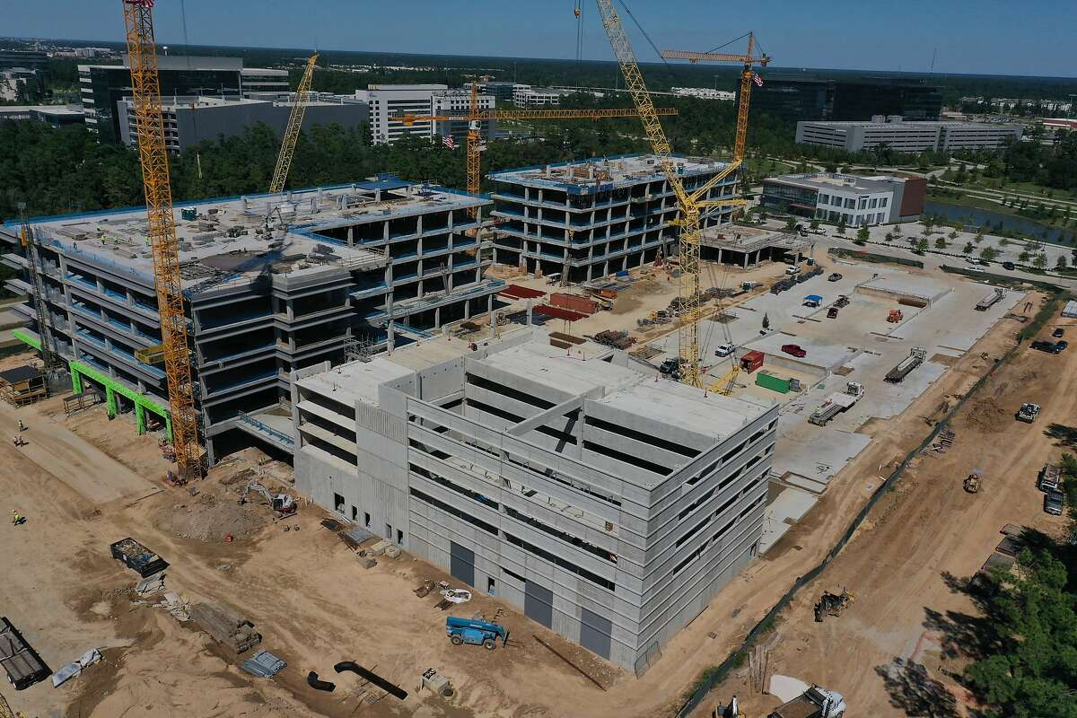 Hewlett Packard Enterprise is building a new campus in the Houston area for its new headquarters. San Jose will remain the company's technical hub.