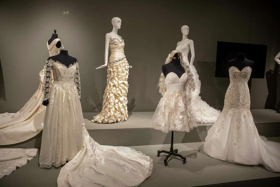 'Betrothed: 250 Years of Wedding Fashion' exhibit as seen Tuesday, Dec. 1, 2020 at the Ellen Noel Art Museum. Jacy Lewis/Reporter-Telegram Photo: Jacy Lewis/Reporter-Telegram