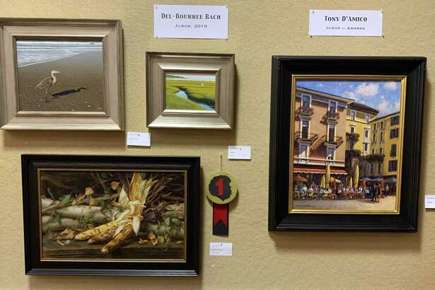 The 48th Annual Mark Twain Library Art Show will be available for in person and virtual viewing this year.