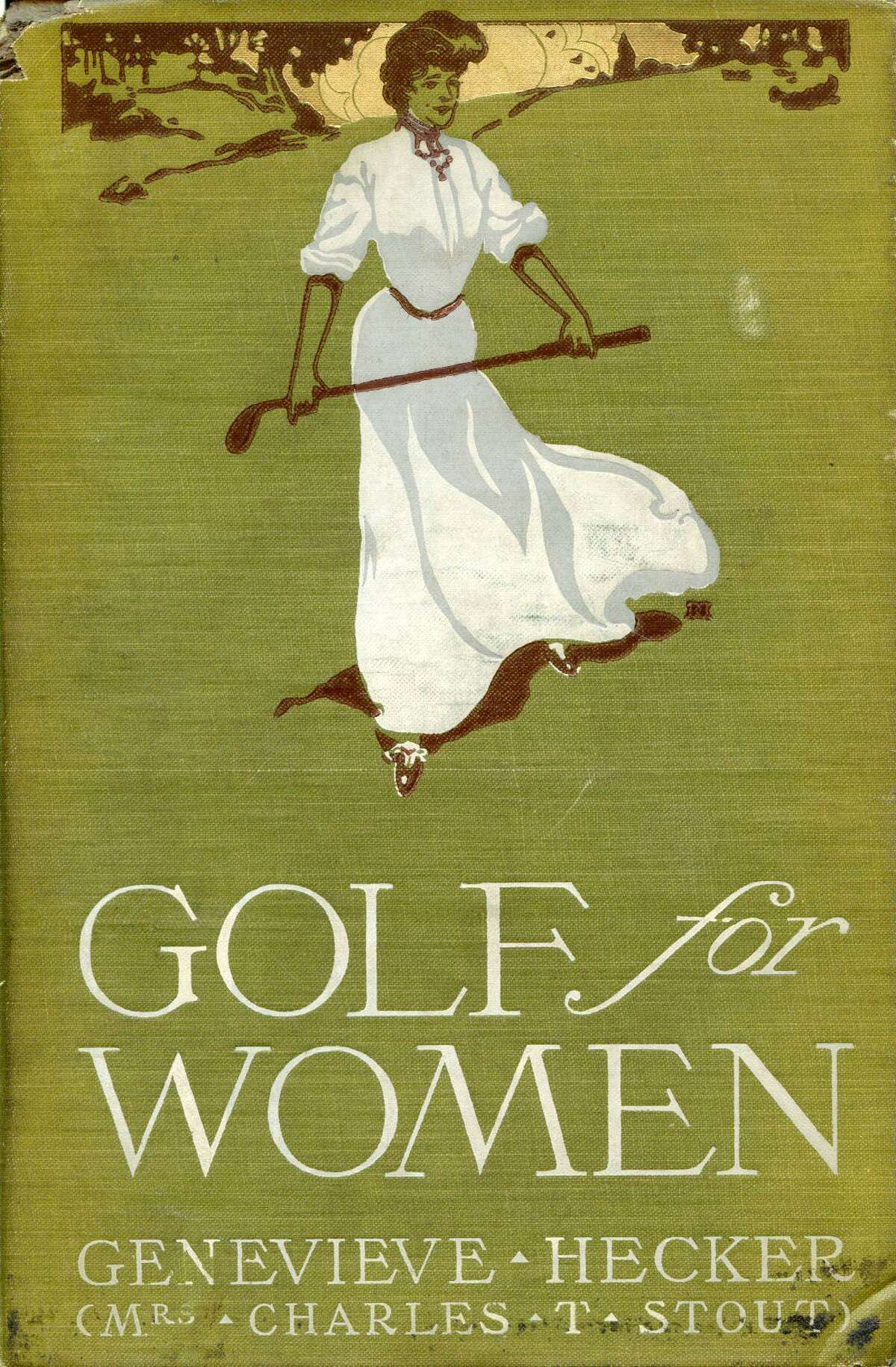 Book cover of Golf For Women, written by Darien native Genevieve Hecker, who will be inducted into the Connecticut Golf Hall of Fame.