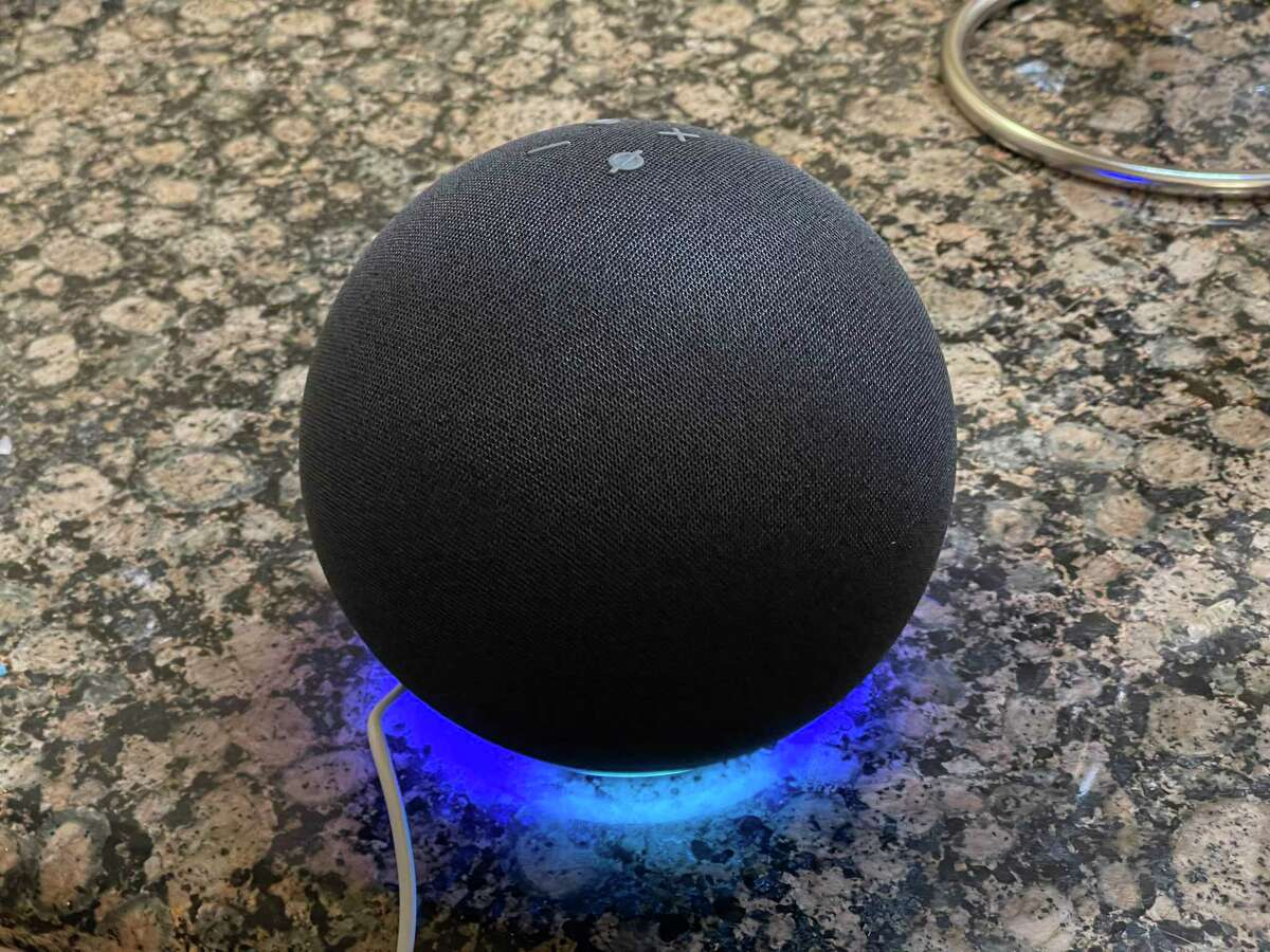 For 2020, Amazon's Echo digital assistant gets out of its cyndrical can and gets spherical.