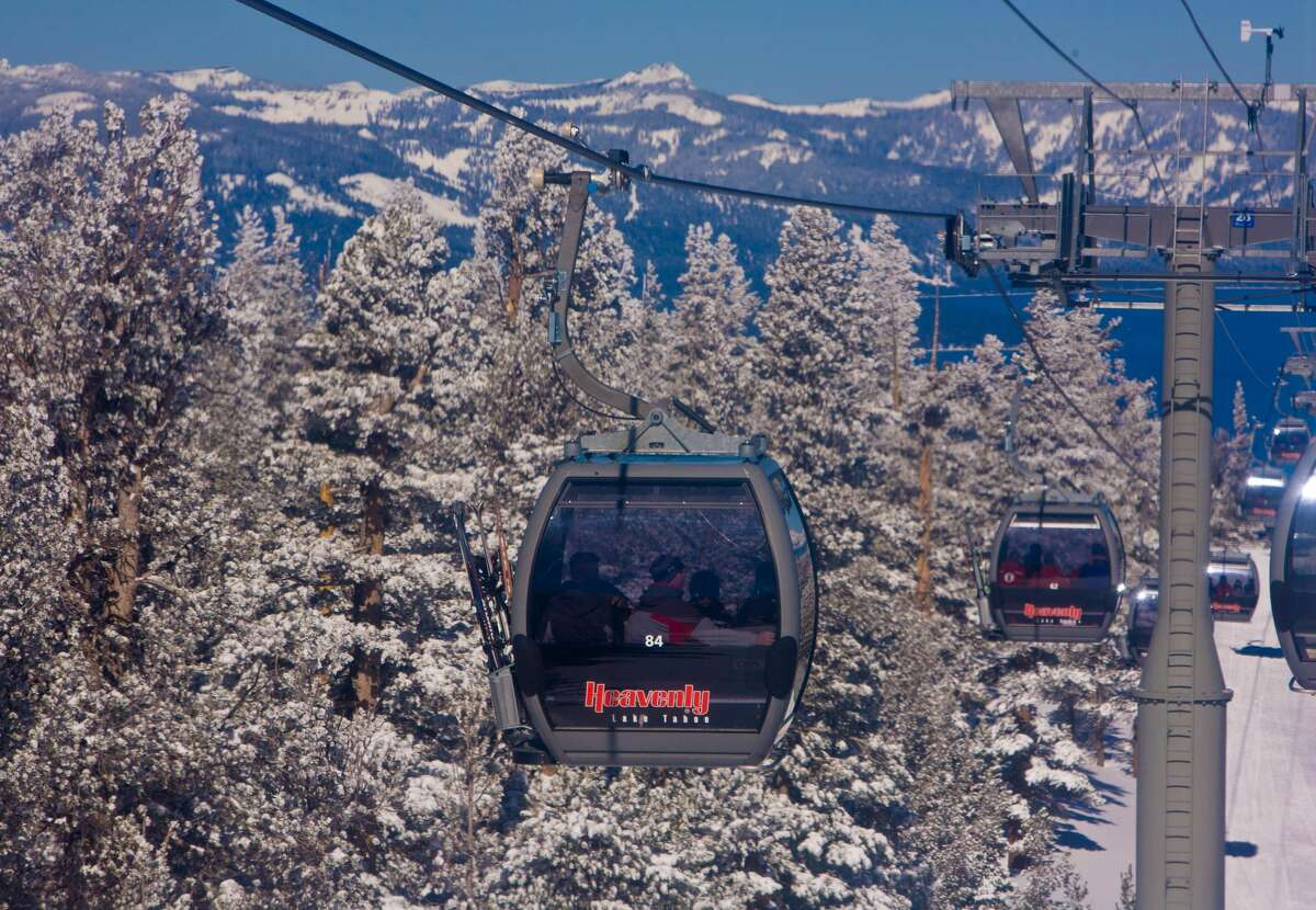California public health officials released on Tuesday new guidelines directing ski resort operations during the pandemic. Heavenly Ski Resort in South Lake Tahoe opened on Nov. 20.