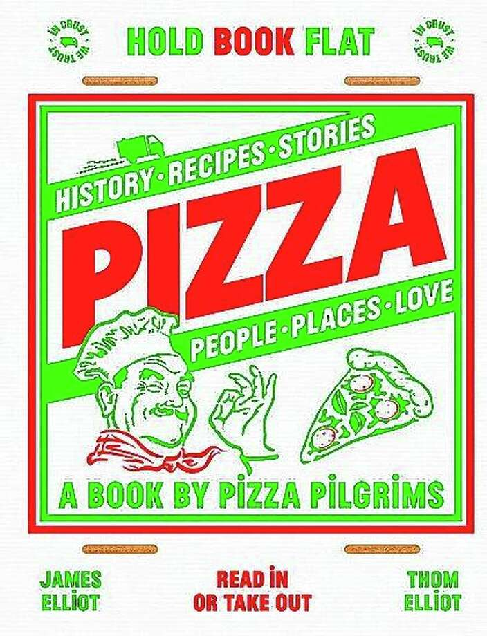 """""""Pizza: History, recipes, stories, people, places, love,"""" by Thom Elliot and James Elliot, explores the world's love affair with the roundish dough cooked with toppings. Photo: Quadrille Via AP"""