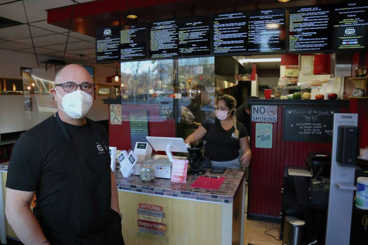 Domenick Pisano Jr. opened Burger Boss on Main Avenue in Norwalk in September. A veteran of deli and restaurant ownership - his most recent success having been the nearby Domenick's Deli, which he sold to focus on this new venture - Pisano believes Burger Boss has what it takes to become franchise material.