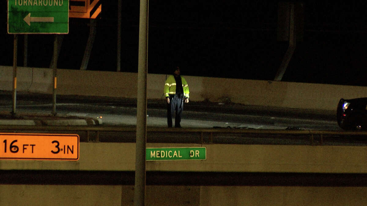 A 31-year-old man driving near Medical Drive and Interstate 10 intersection was shot at least three times by unknown person, San Antonio police said.