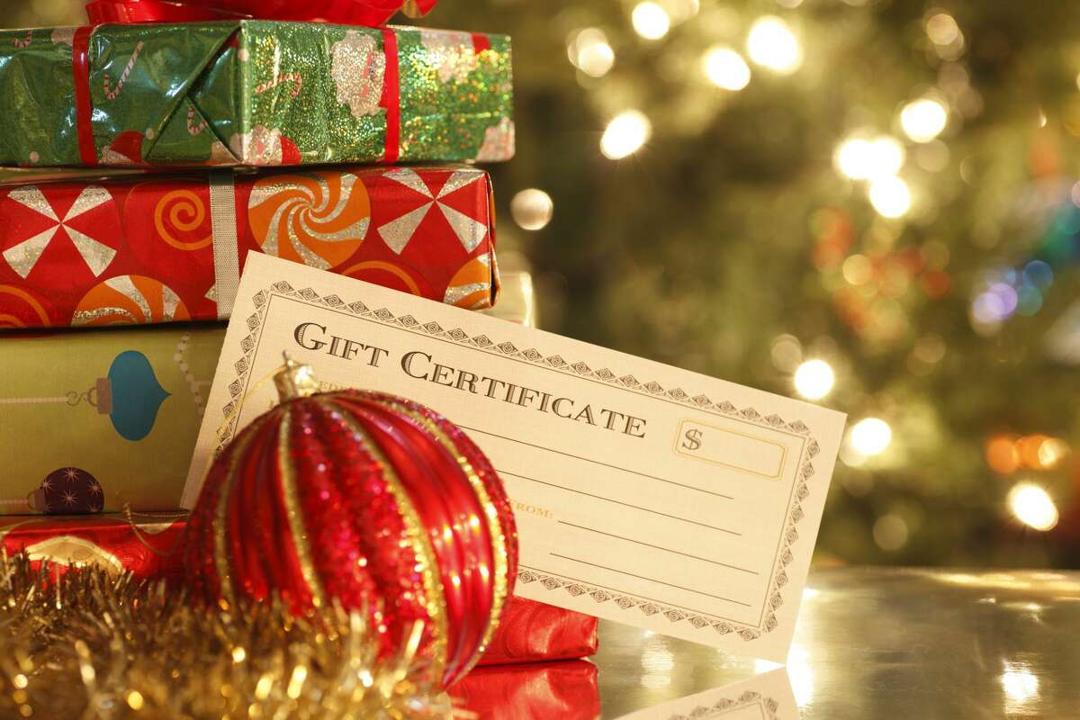 Gifting a gift certificate to a local business is a win for the recipient and the community.