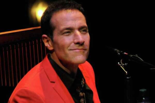 Jim Brickman performs at Brown Theatre in Kentucky in 2014.