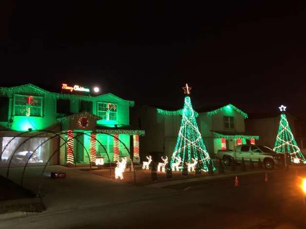 """Northern Lights of New Braunfels (free): For the seventh straight year, Donovan Dove has decked out his New Braunfels home with dazzling Christmas lights that synchronize to music. You can catch Dove's """"Northern Lights of New Braunfels"""" every night until Jan. 1 at 656 Northgap Dr. Hours are from 6 to 10 p.m. Sunday through Thursday and 6 to 11 p.m. Friday and Saturday. For more information visit its Facebook pageor call (210) 383-9155. Photo: Northern Lights Of New Braunfels"""