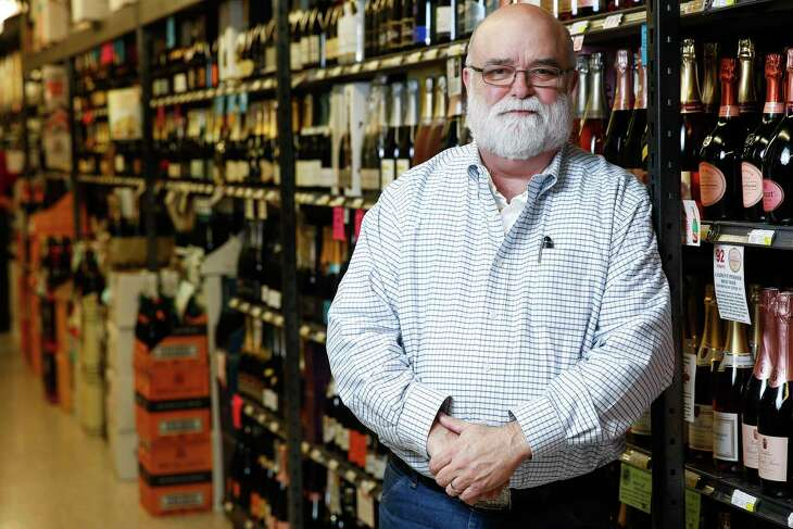 Spec's fine wine buyer Bear Dalton launched the rodeo's wine competition.