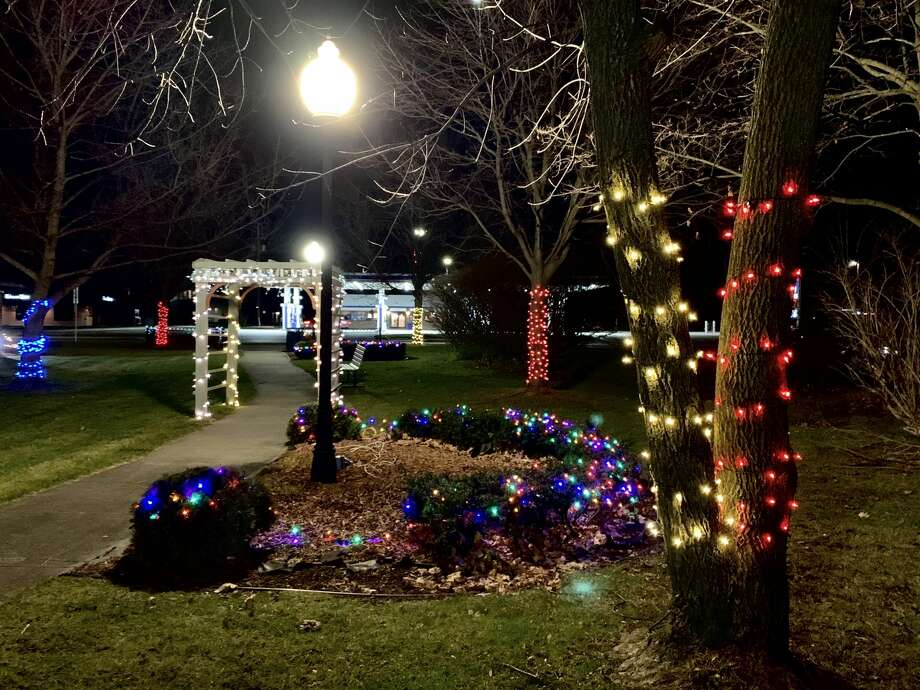 Images of Christmas decorations from around Freeland, Tuesday, Dec. 1, 2020 Photo: Fred Kelly/fred.kelly@mdn.net