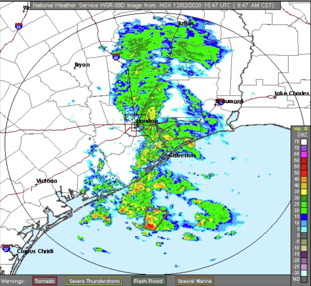 Rain is the main factor in Wednesday's weather forecast for Houston.