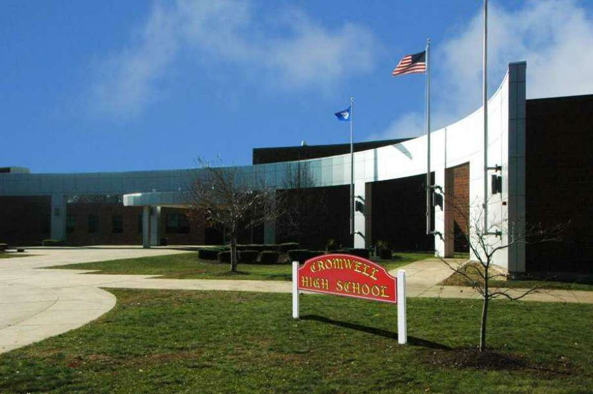 Cromwell High School is located at 34 Evergreen Road.