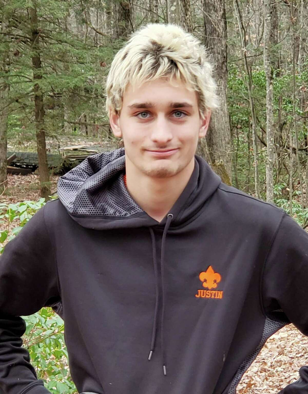 Justin Richards of Colebrook recently attained the rank of Eagle Scout.