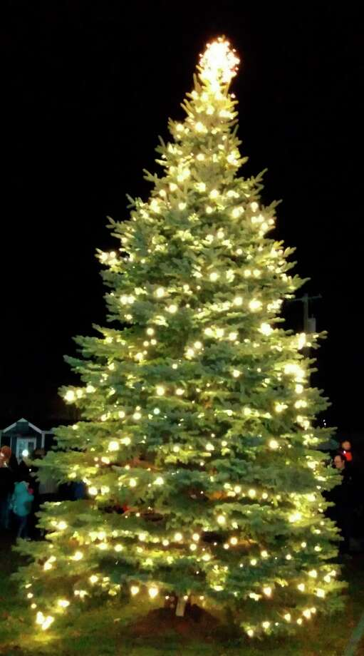 Port Austin will hold its second annual Christmas tree lighting ceremony on Friday, part of a weekend filled with holiday events. (Tribune File Photo)