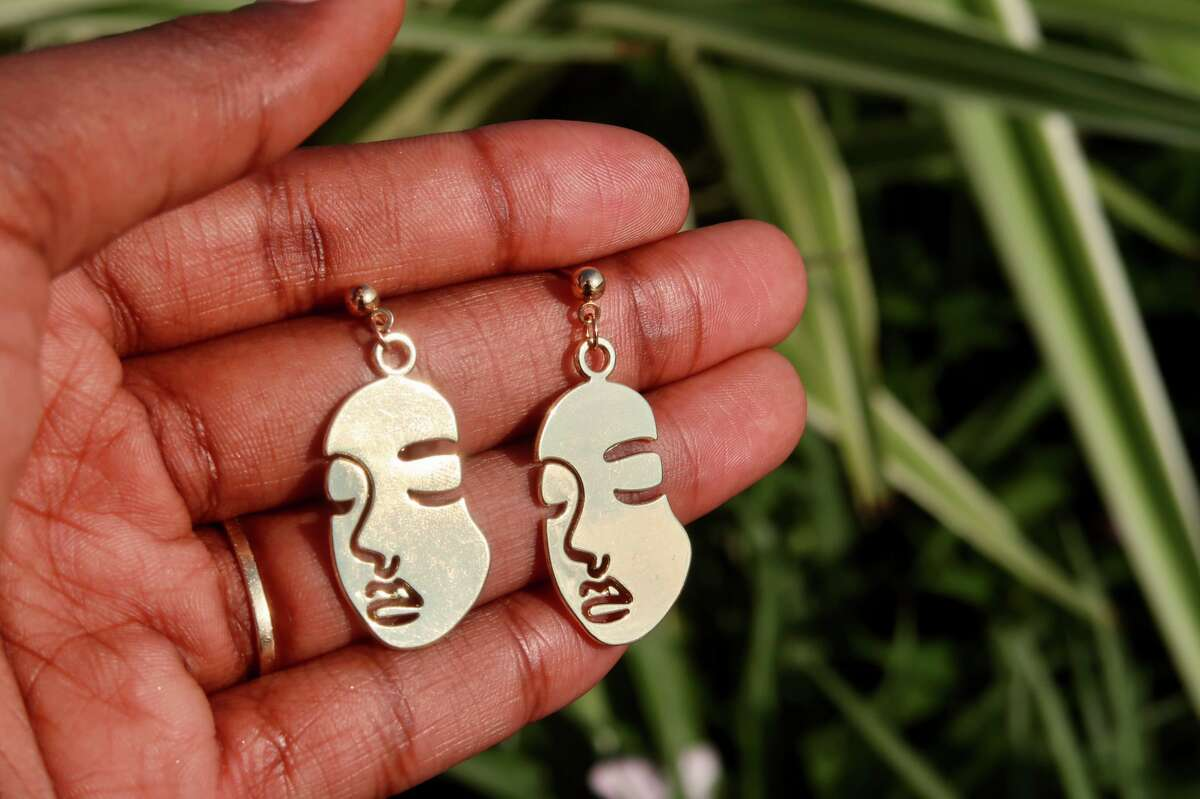 Earrings at Golden Hour Accesories.