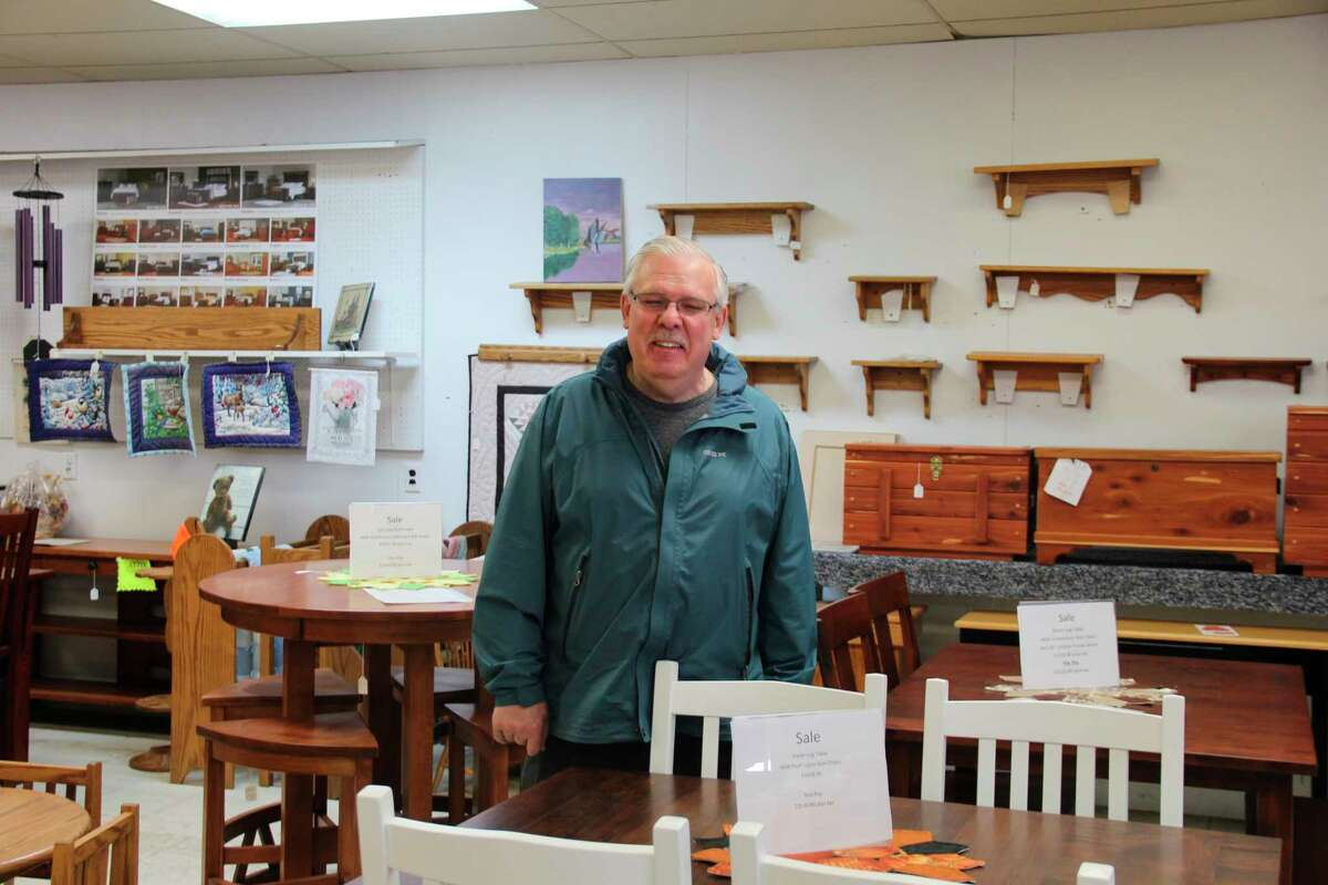 Larry Brownis the owner of Bad Axe Appliance/Amish Country Crafters. Brown has owned the store since 1984 and brought in handmake Amish goods to sell. (Robert Creenan/Huron Daily Tribune)