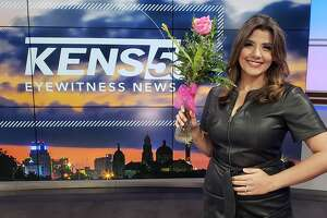 KENS5 anchor Sarah Forgany is expecting her first child, a baby girl in May 2021.