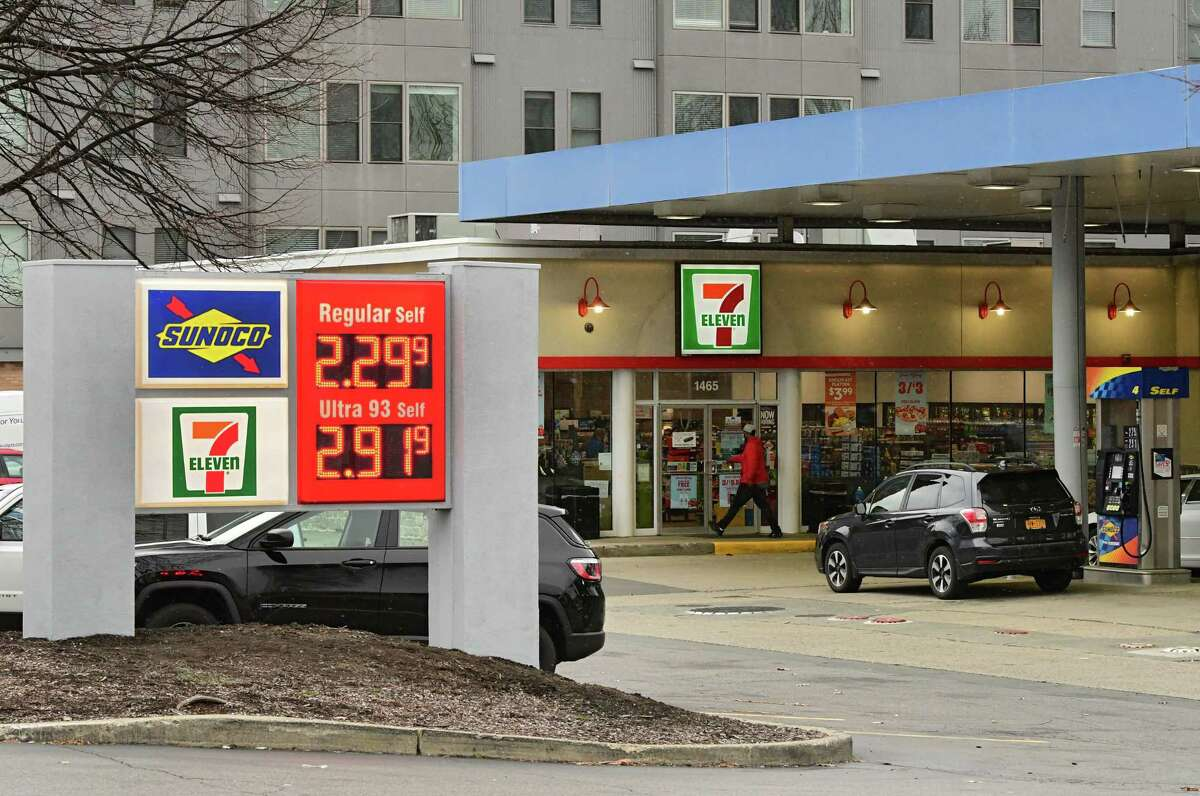 Exterior of the new new 7-Eleven at 1465 on Washington Ave. across from University at Albany on Wednesday, Dec. 2, 2020 in Albany, N.Y. (Lori Van Buren/Times Union)