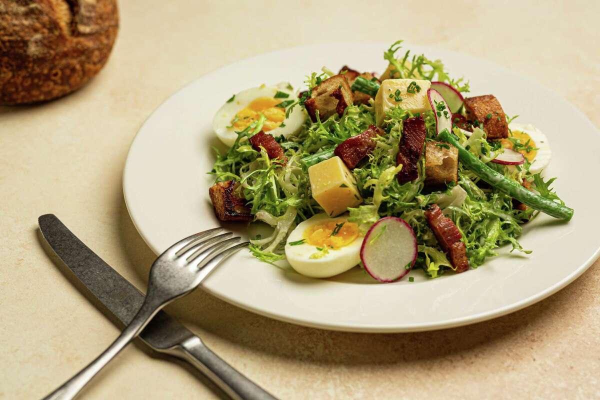 Lyonnaise salad from Brasserie Mon Chou Chou