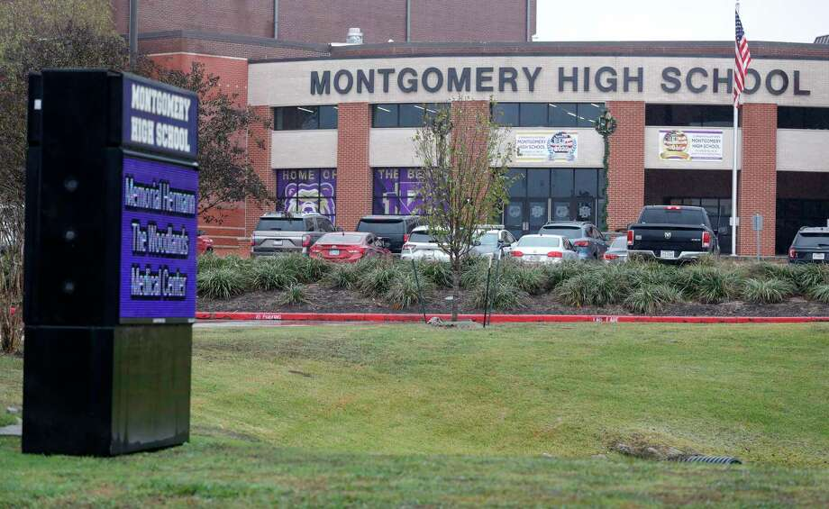 Montgomery High School is seen, Wednesday, Dec. 2, 2020, in Montgomery. Photo: Jason Fochtman, Houston Chronicle / Staff Photographer / 2020 © Houston Chronicle