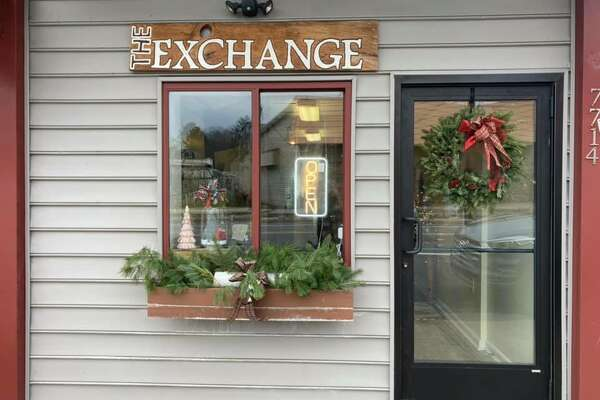 Bear Lake Schools' pop-up holiday gift store, The Exchange, allows students to sell craft items in order to raise money for senior trips. The store is next to Maggie's in downtown Bear Lake.