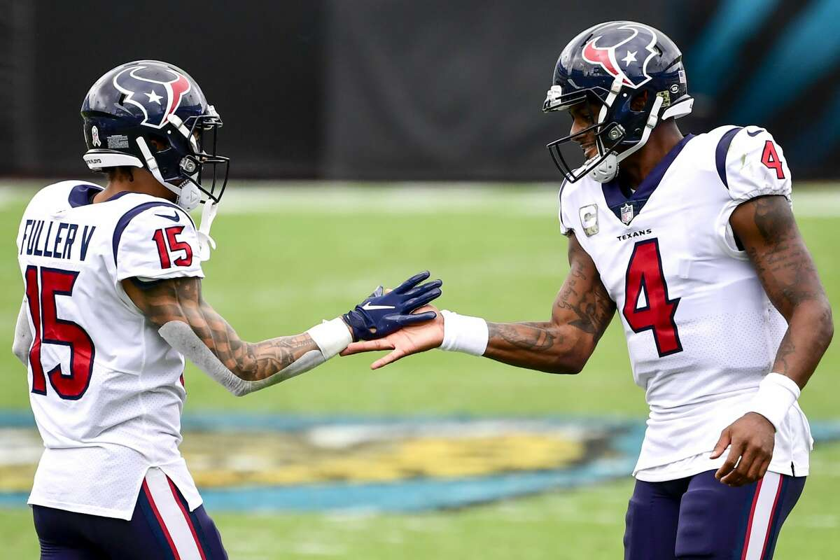 """After admitting he didn't know any of the specifics of the lawsuits, Will Fuller said """"I fully support"""" Deshaun Watson."""