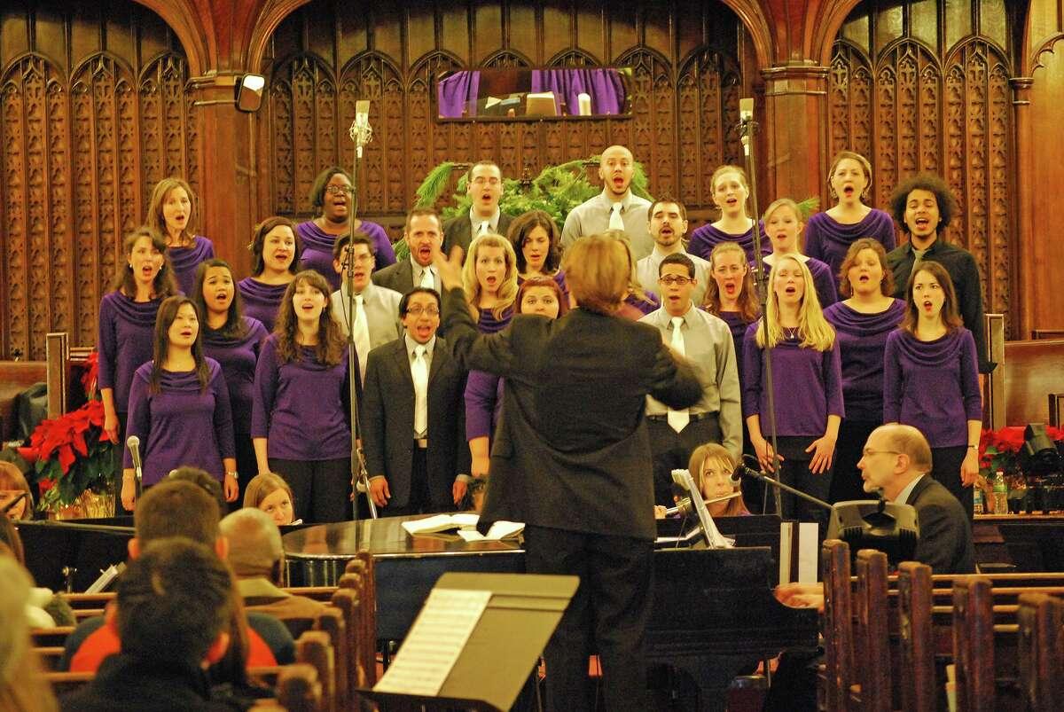 The SymphoNY Chorus present their Christmas concert,
