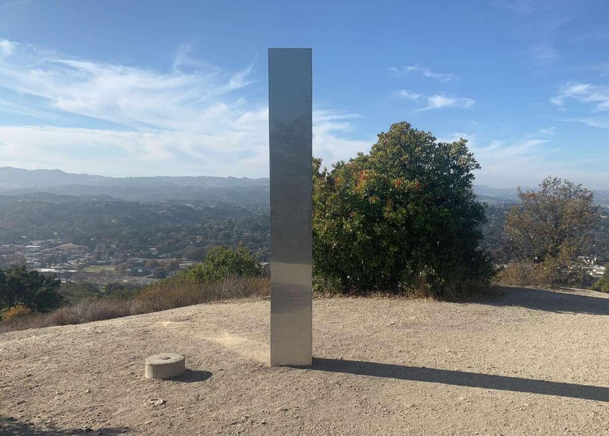 Meet Califorinia's monolith.
