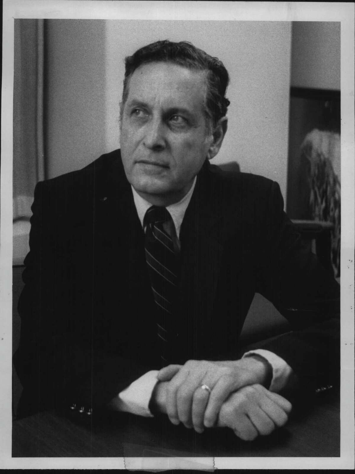 Harold Rubin, a founder of the Council of Albany Neighborhood Associations, died at age 93 on Nov. 24, 2020. (Roberta Smith/Times Union Archive)