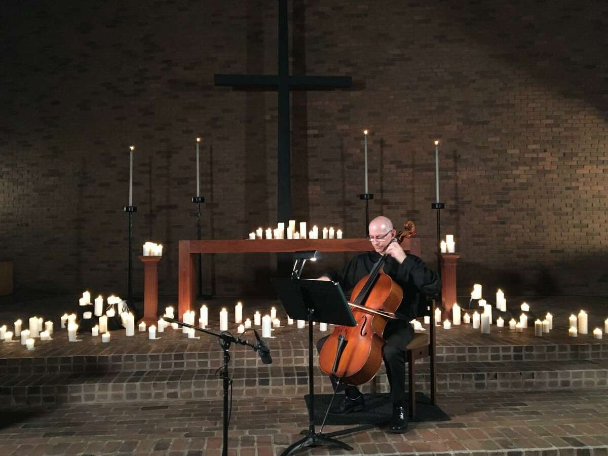 Cellist David Bakamjian is a featured soloist in a program for the First Presbyterian Church of New Canaan's Advent Meditations series.