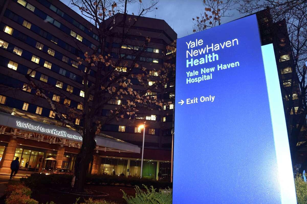 Yale New Haven Hospital photographed on Nov. 30, 2020.