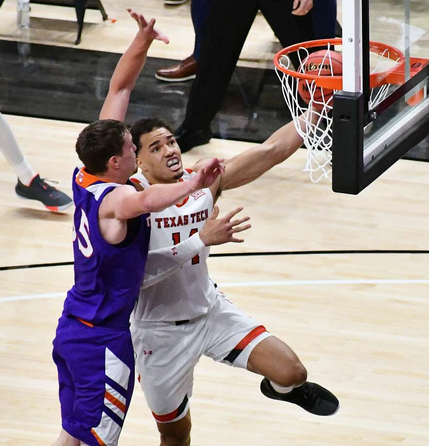 Marcus Santos-Silva and the 17th-ranked Texas Tech men's basketball team will host Troy on Friday night at 8 p.m. Photo: Nathan Giese/Planview Herald