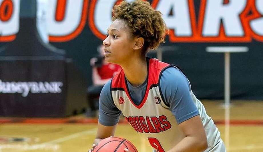 Mikayla Kinnard scored a career-high 24 points in SIUE's road loss to Arkansas State on Wednesday. Photo: SIUE Athletics