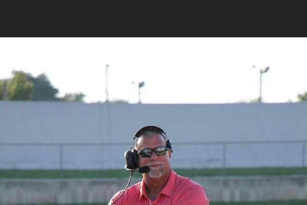 Lumberton High School assistant football coach Artie Trahan
